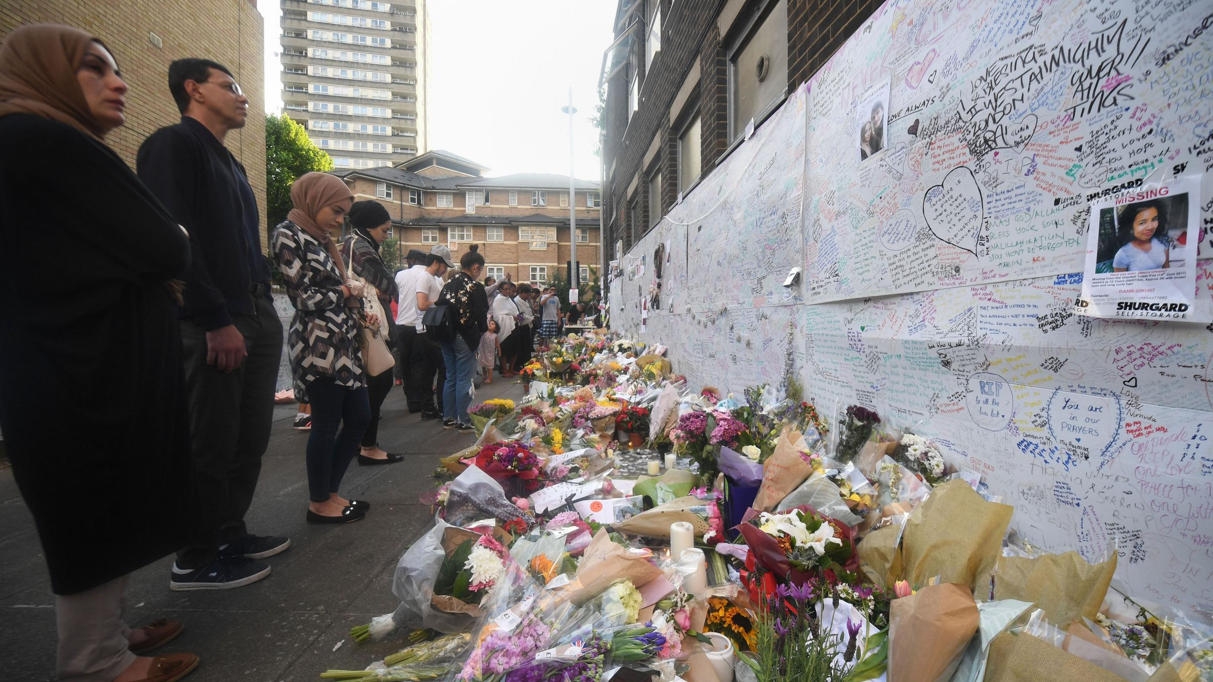 London fire: Police say 58 people assumed dead in tower block