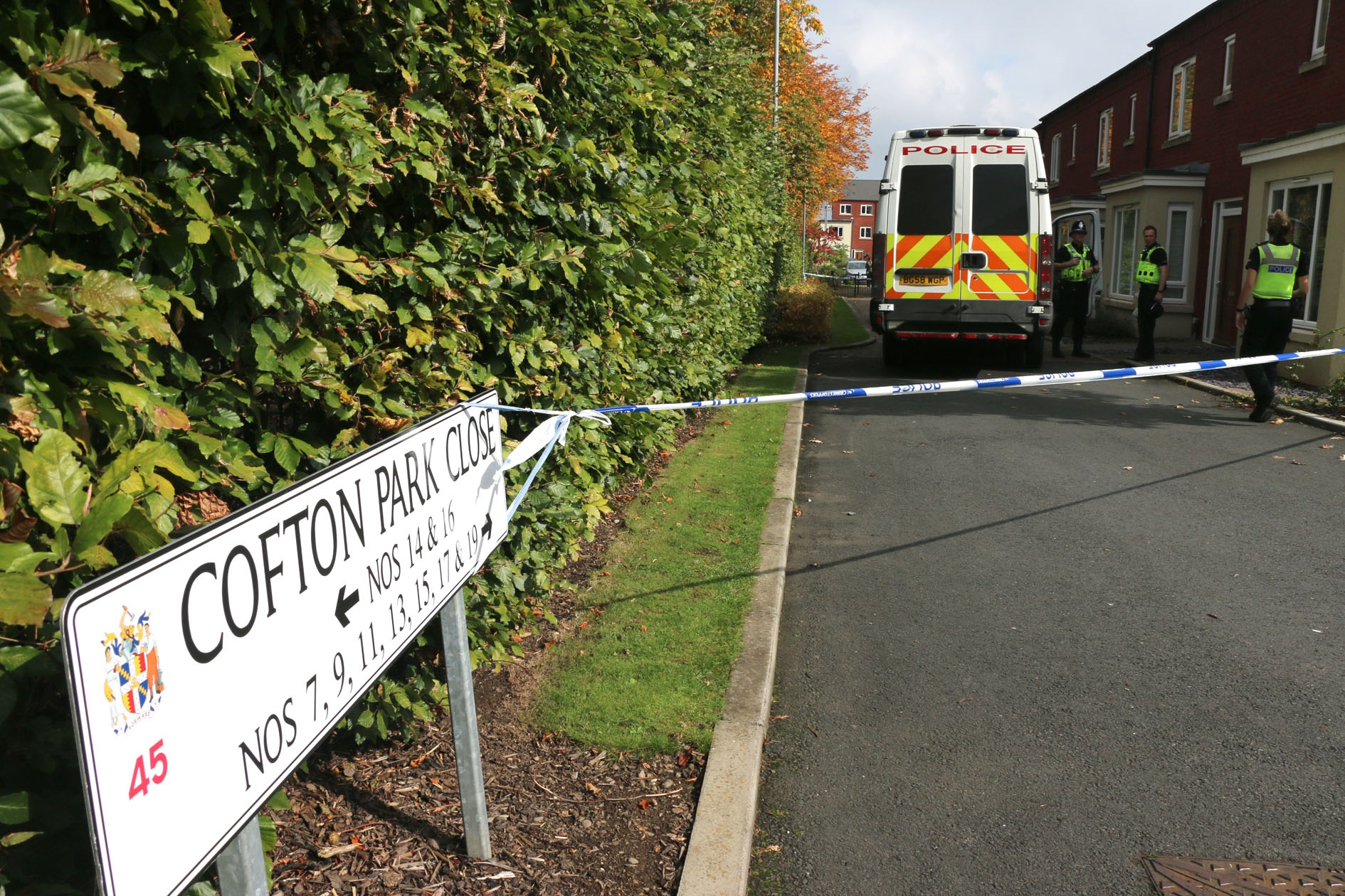 Investigation as bodies of husband and wife found in Rednal and Streetly